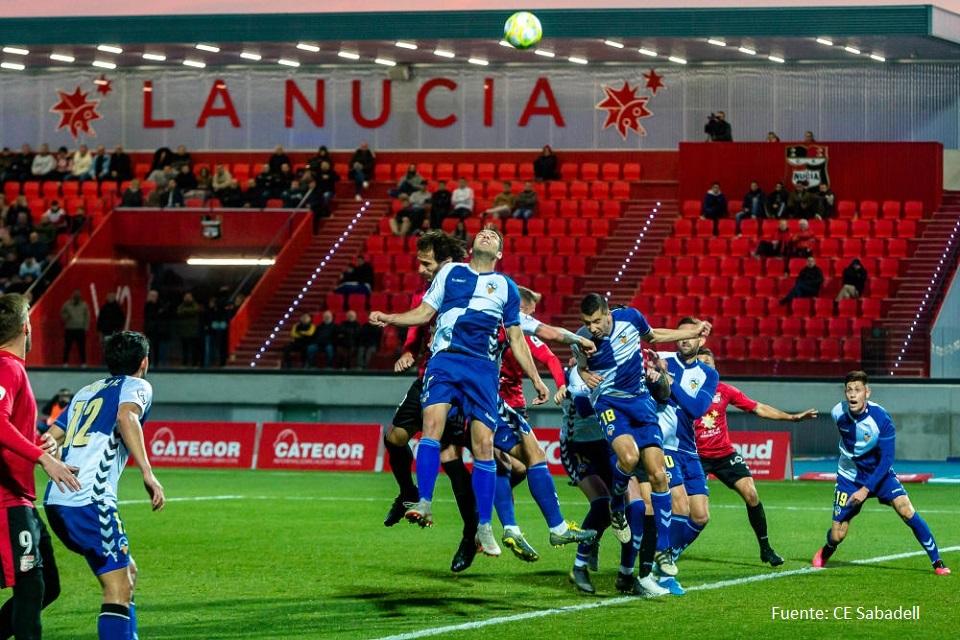 CF La Nucía vs CE Sabadell Grupo 3 - 2020